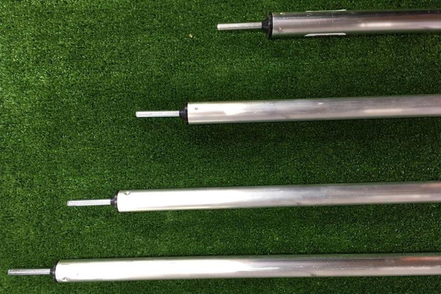 Adjustable Twist Lock Tent Pole With Spigot Both Ends